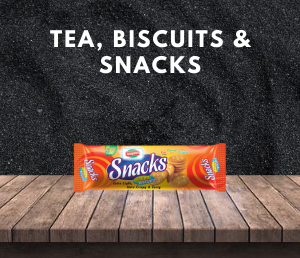 Tea, Biscuits & Snacks ( চা, বিস্কুট এবং স্ন্যাকস )